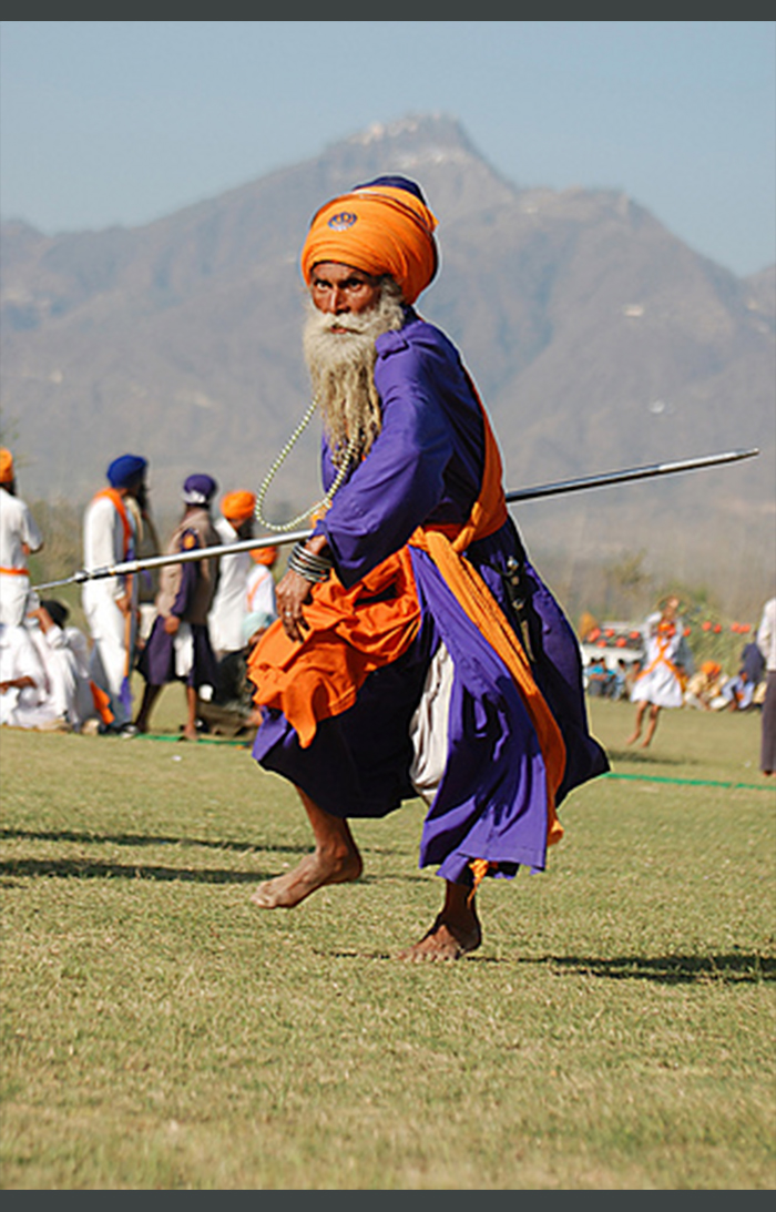 Nihang Singh Gatka fighting