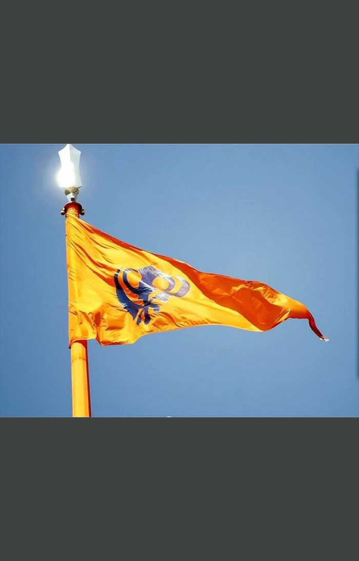 Nishan flag in Bulandpuri