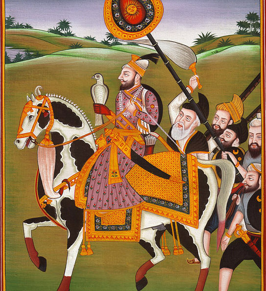 Historical painting of Sri Guru Gobind Singh Ji