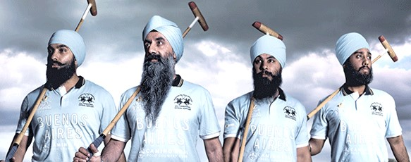 Sikh Polo Team Camino Real, UK