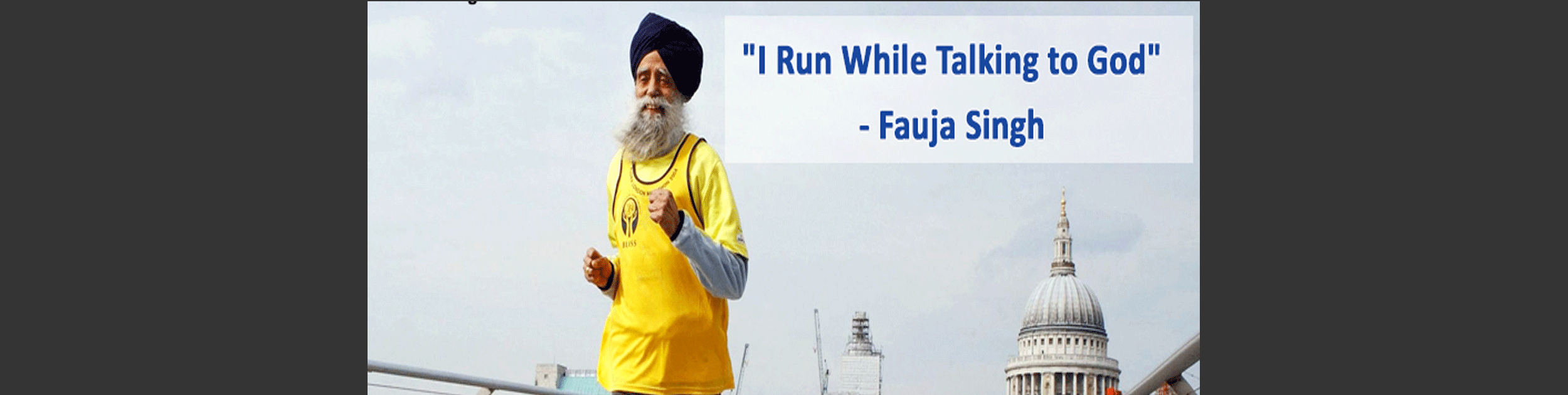Sikh Marathon runner - 107 years old